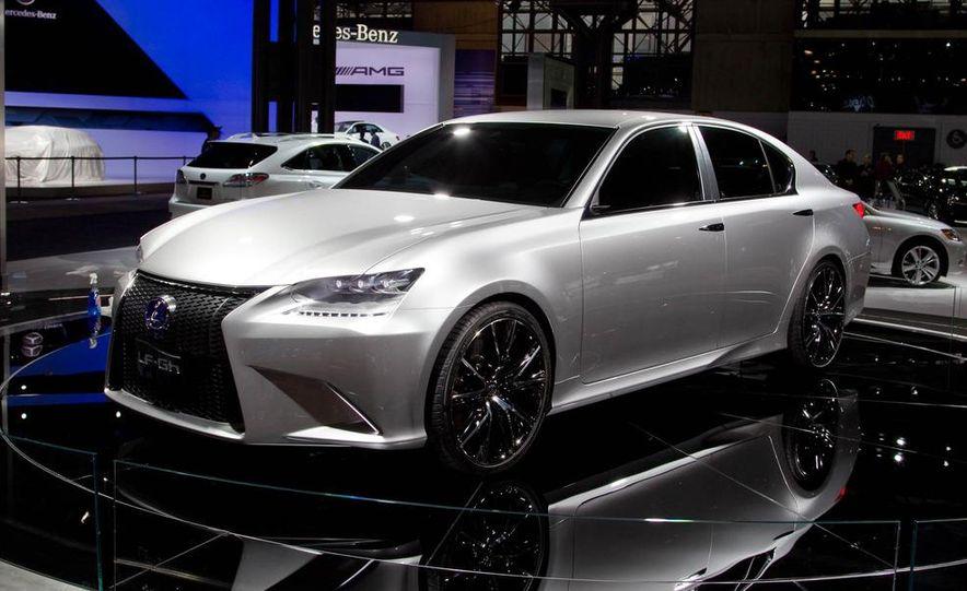 Lexus LF-Gh hybrid concept - Slide 3