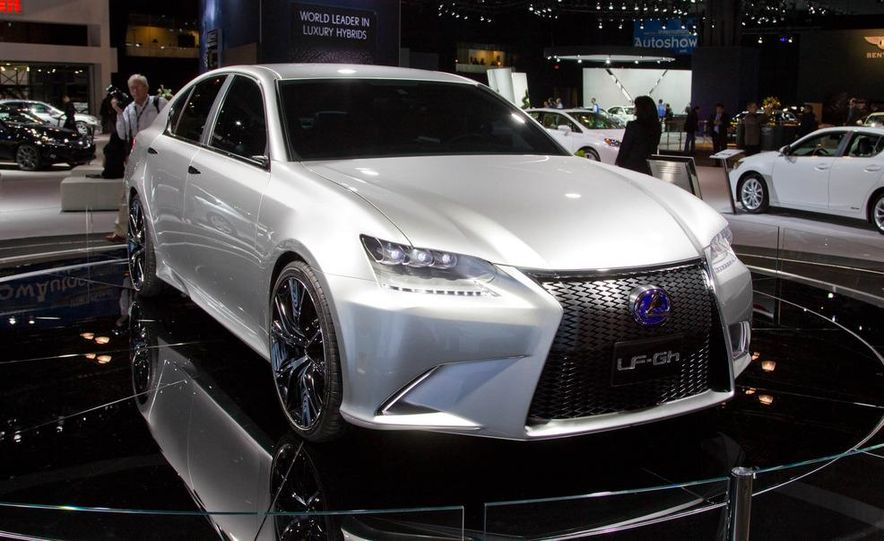 Lexus LF-Gh hybrid concept - Slide 11