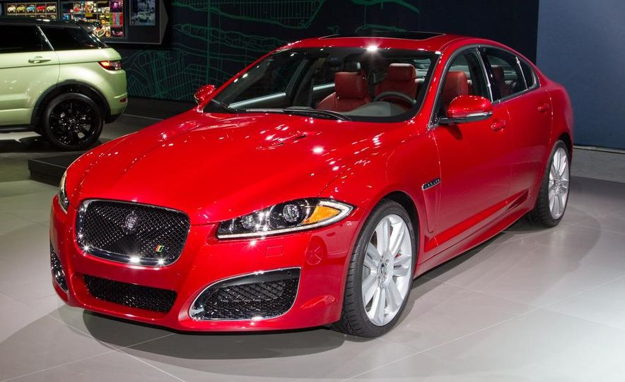 2012 Jaguar XFR - Slide 1