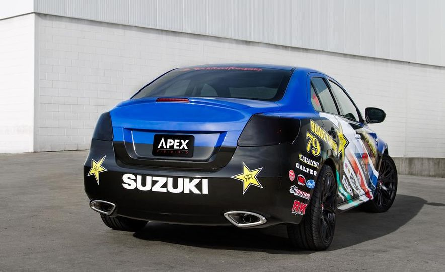 Suzuki Kizashi Apex concept - Slide 8