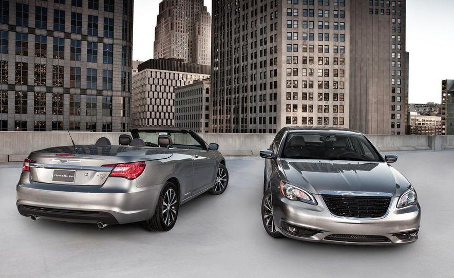 2011 Chrysler 200 S convertible and sedan - Slide 1