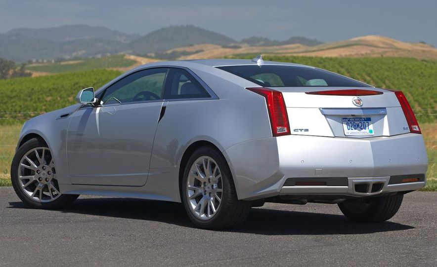 2012 Cadillac CTS coupe - Slide 7