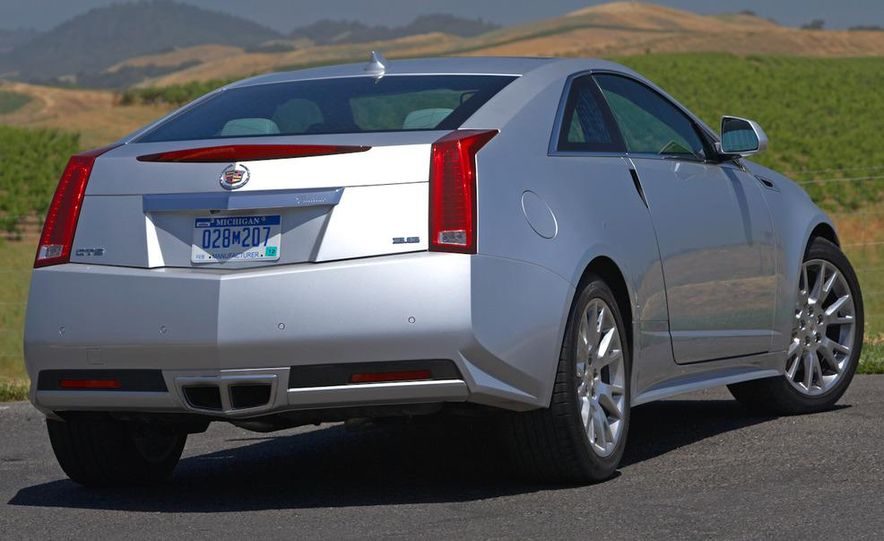 2012 Cadillac CTS coupe - Slide 8