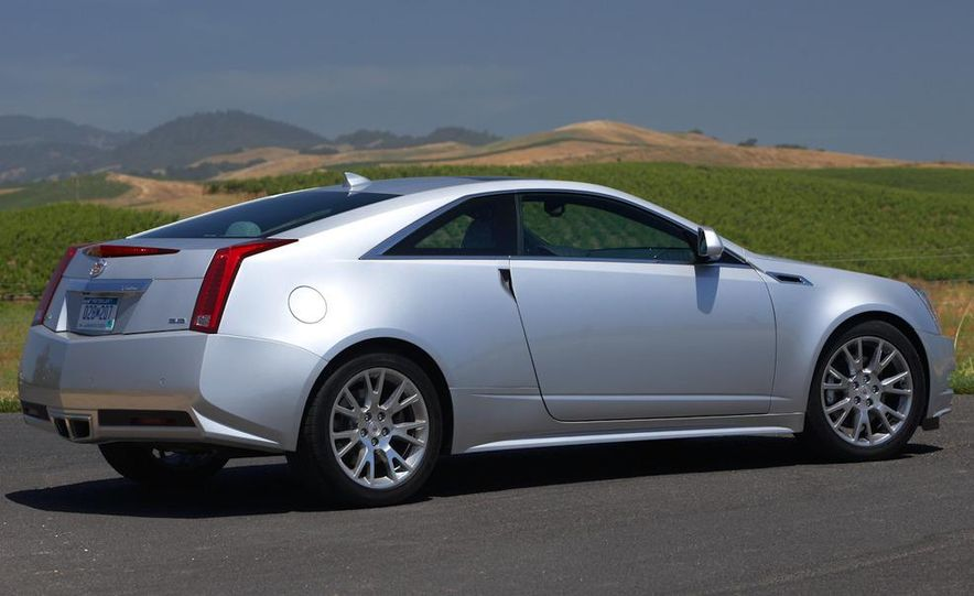 2012 Cadillac CTS coupe - Slide 9
