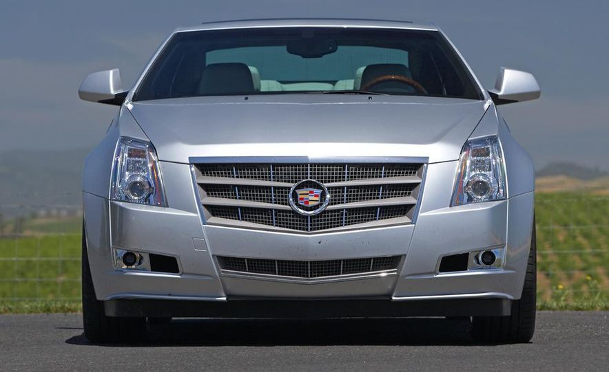2012 Cadillac CTS coupe - Slide 10