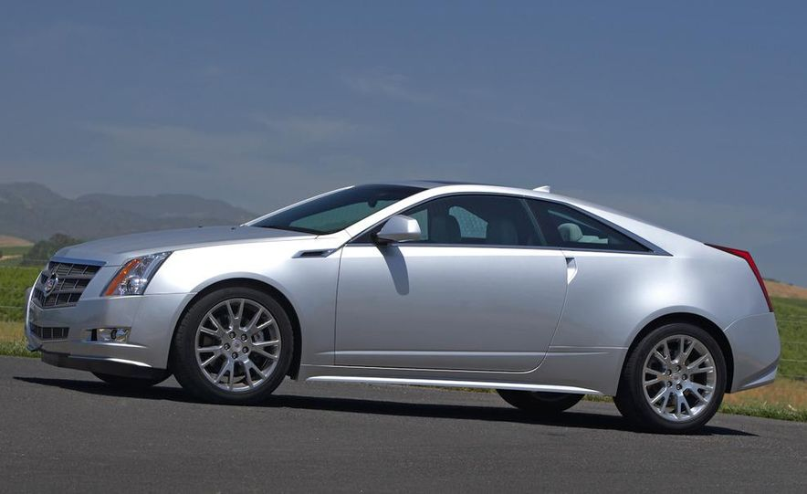 2012 Cadillac CTS coupe - Slide 12