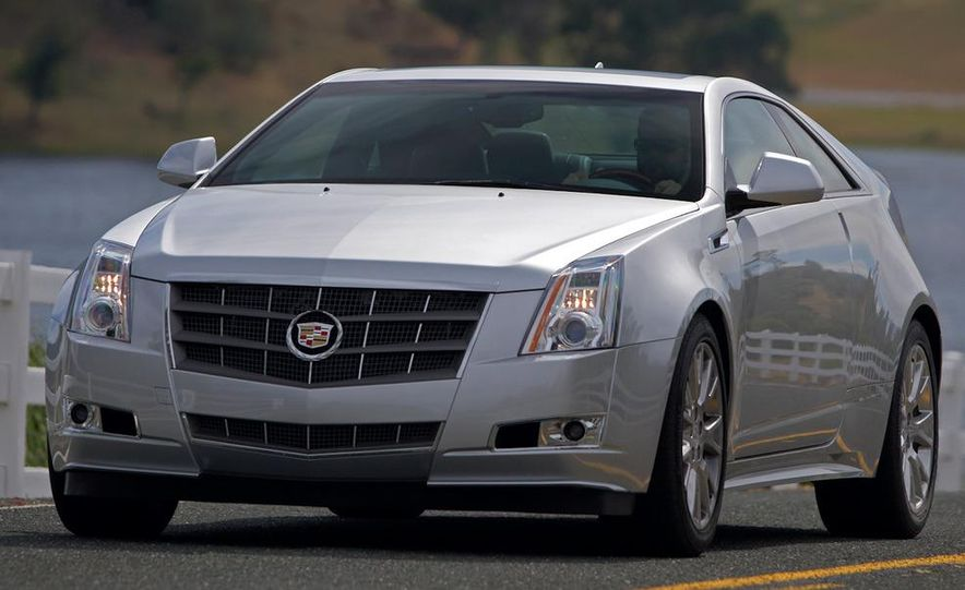 2012 Cadillac CTS coupe - Slide 13