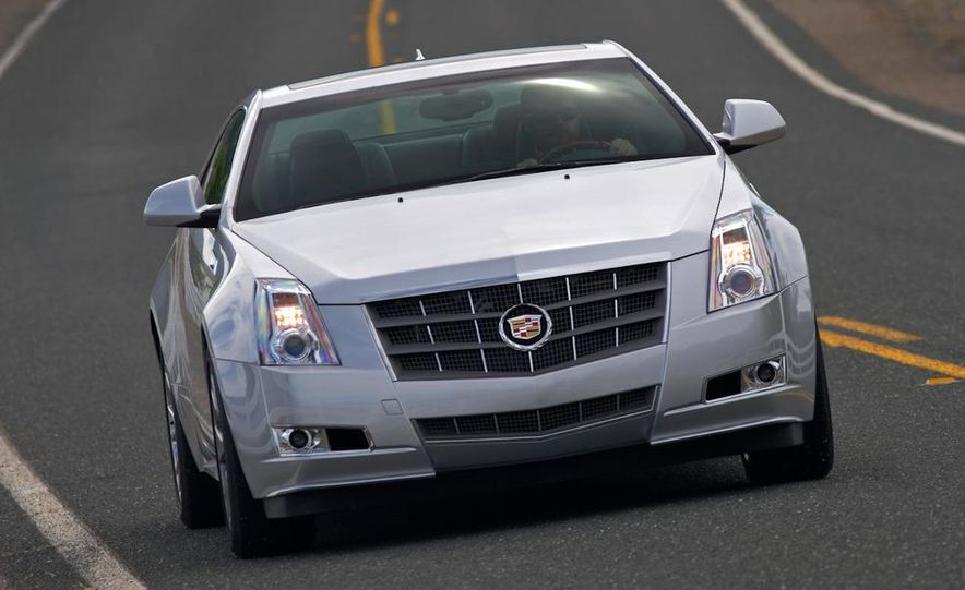 2012 Cadillac CTS coupe - Slide 14