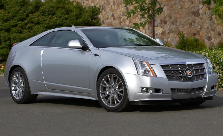 2012 Cadillac CTS coupe - Slide 15