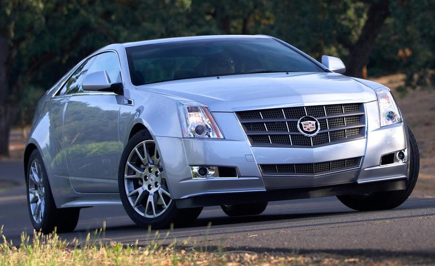 2012 Cadillac CTS coupe - Slide 17