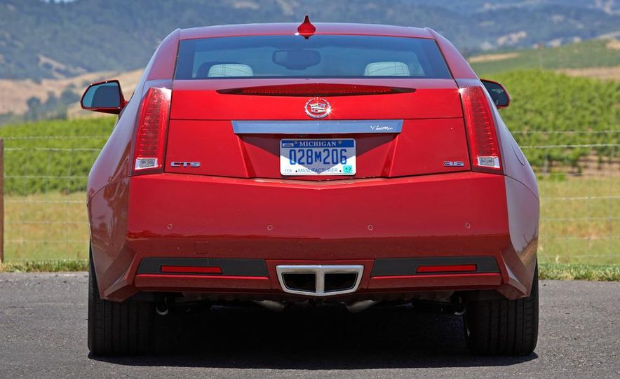 2012 Cadillac CTS coupe - Slide 19