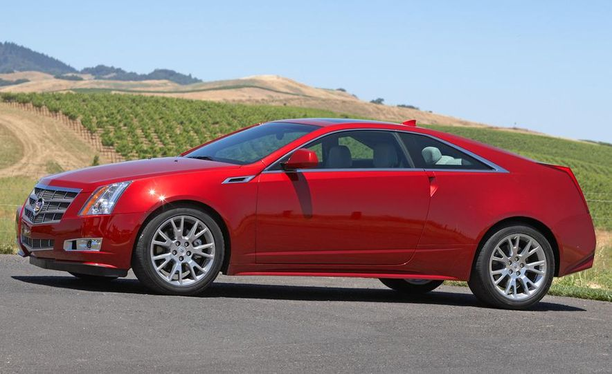 2012 Cadillac CTS coupe - Slide 20
