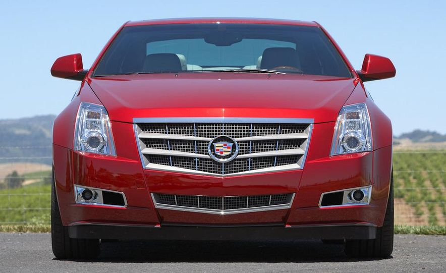 2012 Cadillac CTS coupe - Slide 21