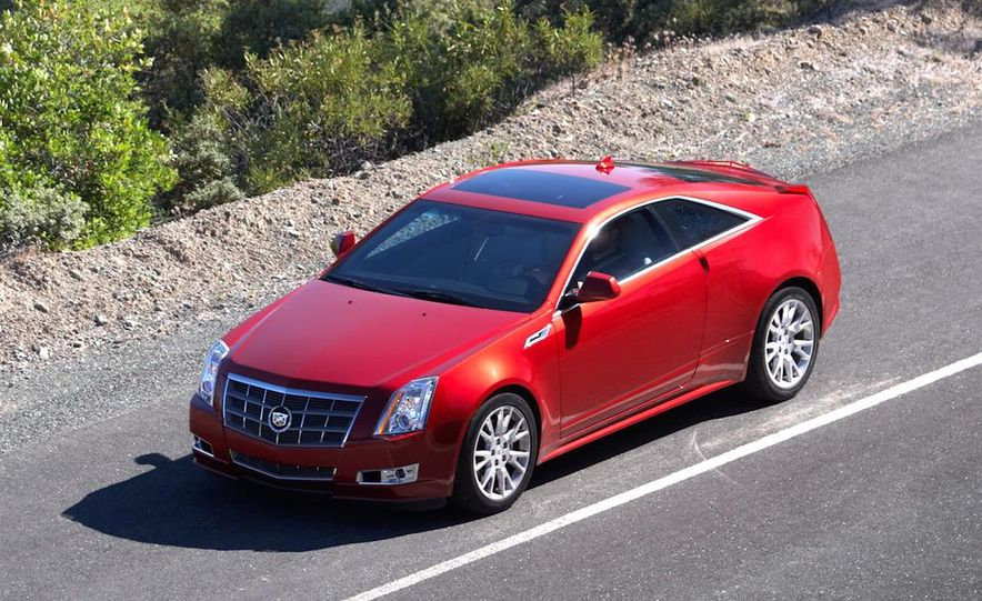 2012 Cadillac CTS coupe - Slide 22