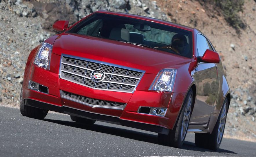 2012 Cadillac CTS coupe - Slide 23