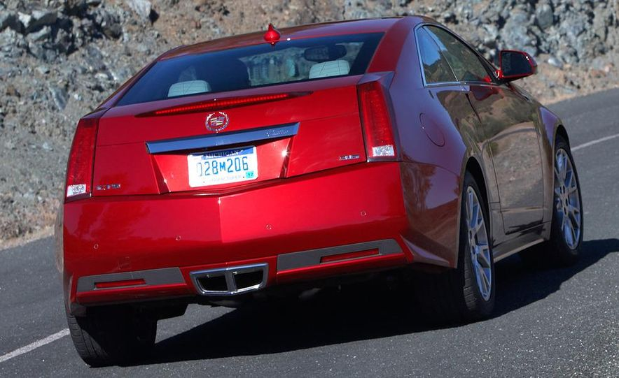 2012 Cadillac CTS coupe - Slide 24