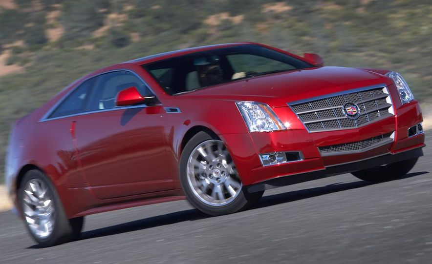 2012 Cadillac CTS coupe - Slide 25