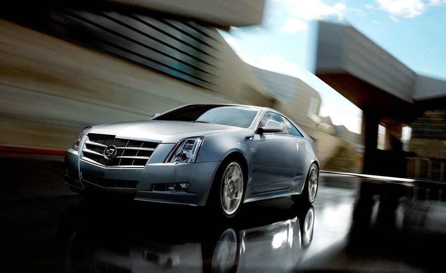 2012 Cadillac CTS coupe - Slide 27