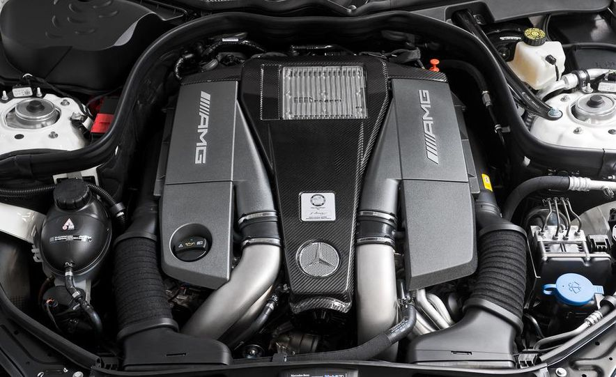 2012 Mercedes-Benz E63 AMG sedan - Slide 25