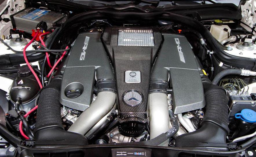 2012 Mercedes-Benz E63 AMG sedan - Slide 12