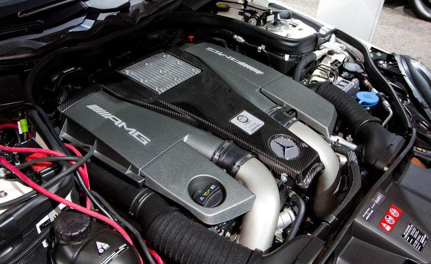 2012 Mercedes-Benz E63 AMG sedan - Slide 13