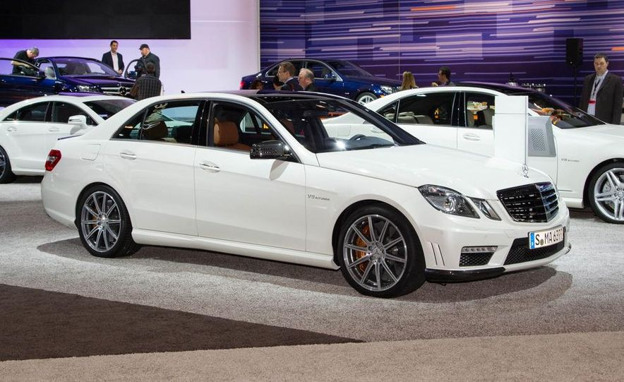 2012 Mercedes-Benz E63 AMG sedan - Slide 3
