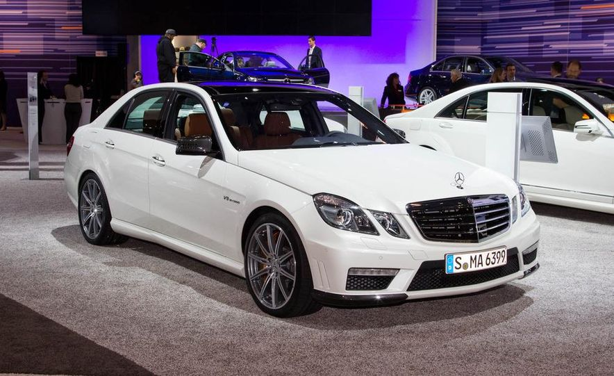 2012 Mercedes-Benz E63 AMG sedan - Slide 1