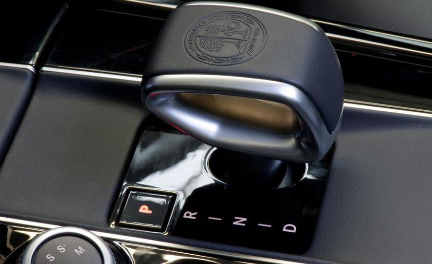 2012 Mercedes-Benz E63 AMG sedan - Slide 24