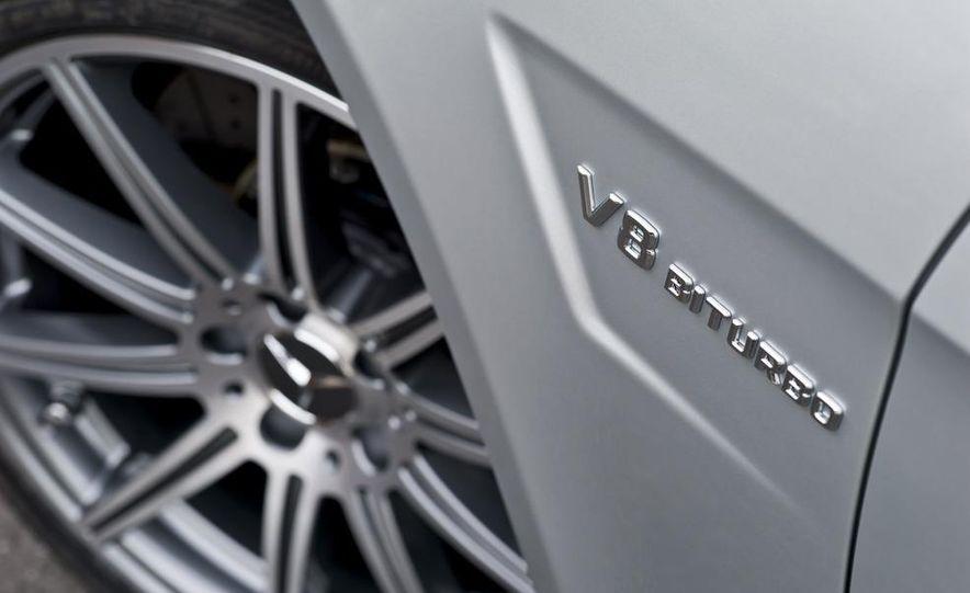 2012 Mercedes-Benz E63 AMG sedan - Slide 21