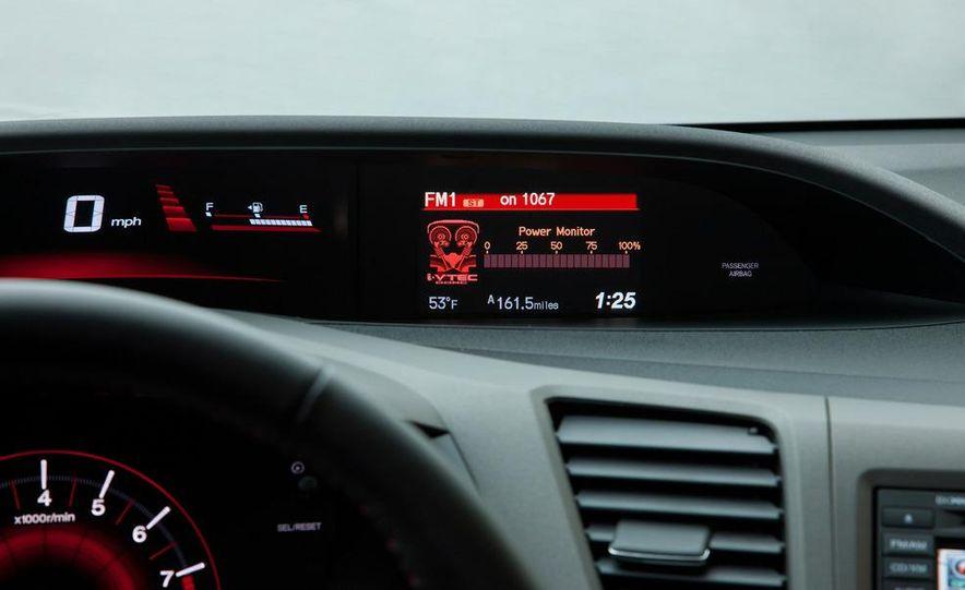 2012 Honda Civic Si sedan - Slide 27