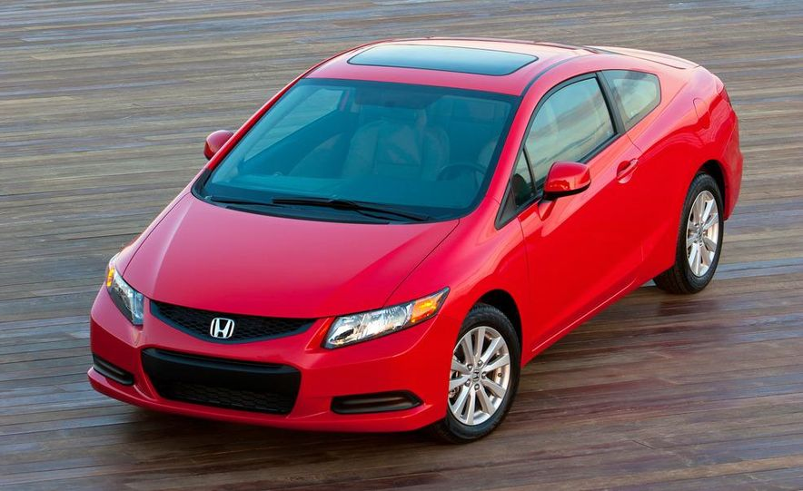 2012 Honda Civic EX-L sedan - Slide 49