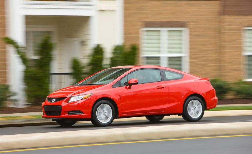 2012 Honda Civic EX-L sedan - Slide 53