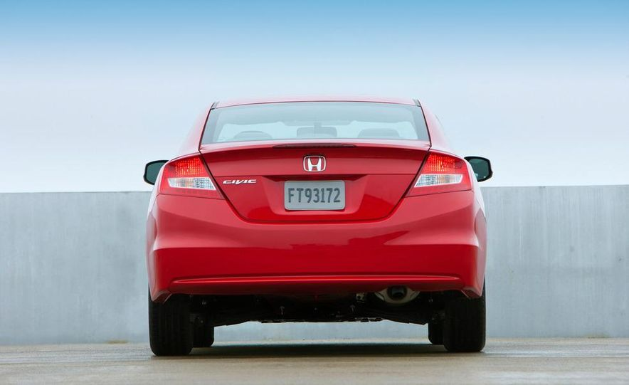 2012 Honda Civic EX-L sedan - Slide 62