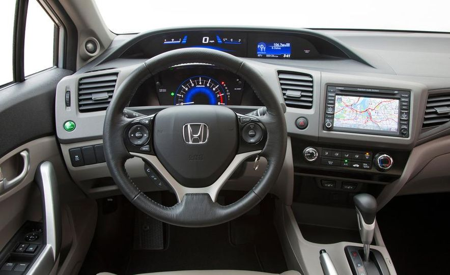 2012 Honda Civic EX-L sedan - Slide 73