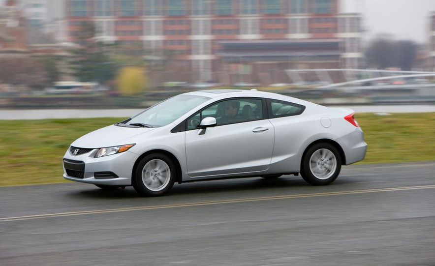 2012 Honda Civic EX-L sedan - Slide 71