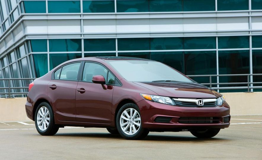 2012 Honda Civic EX-L sedan - Slide 8