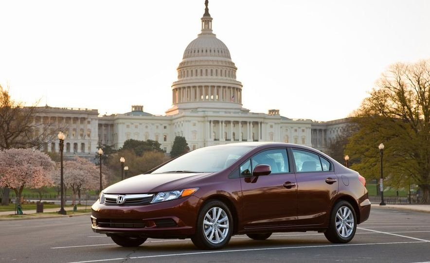2012 Honda Civic EX-L sedan - Slide 11
