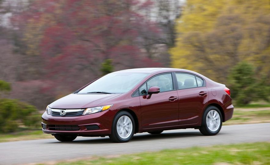 2012 Honda Civic EX-L sedan - Slide 14
