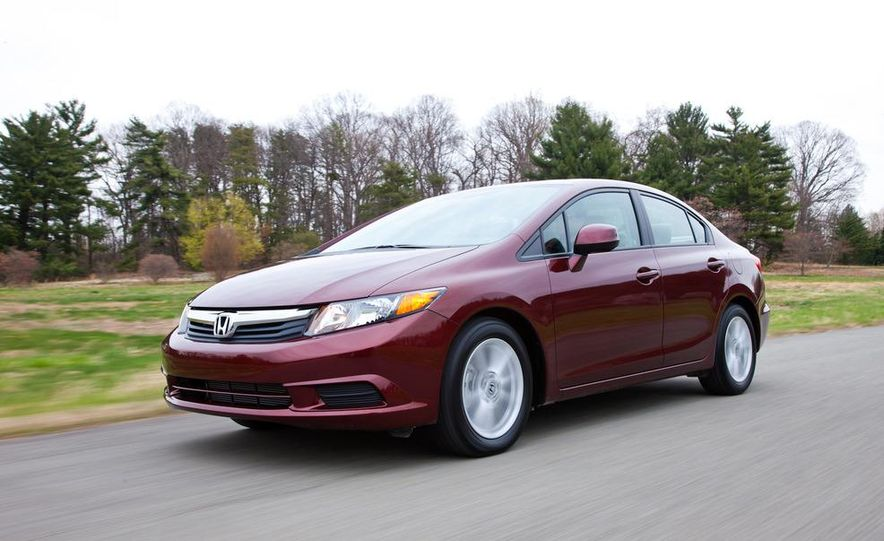 2012 Honda Civic EX-L sedan - Slide 16