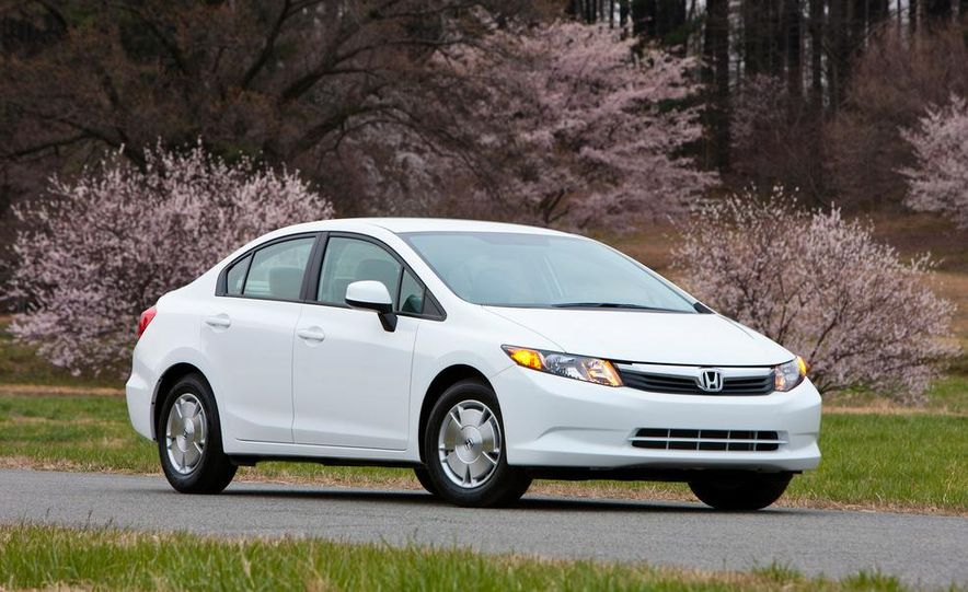 2012 Honda Civic EX-L sedan - Slide 75