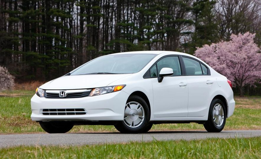 2012 Honda Civic EX-L sedan - Slide 76