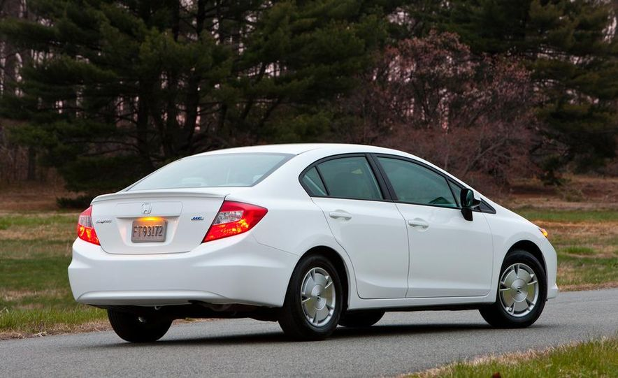 2012 Honda Civic EX-L sedan - Slide 78
