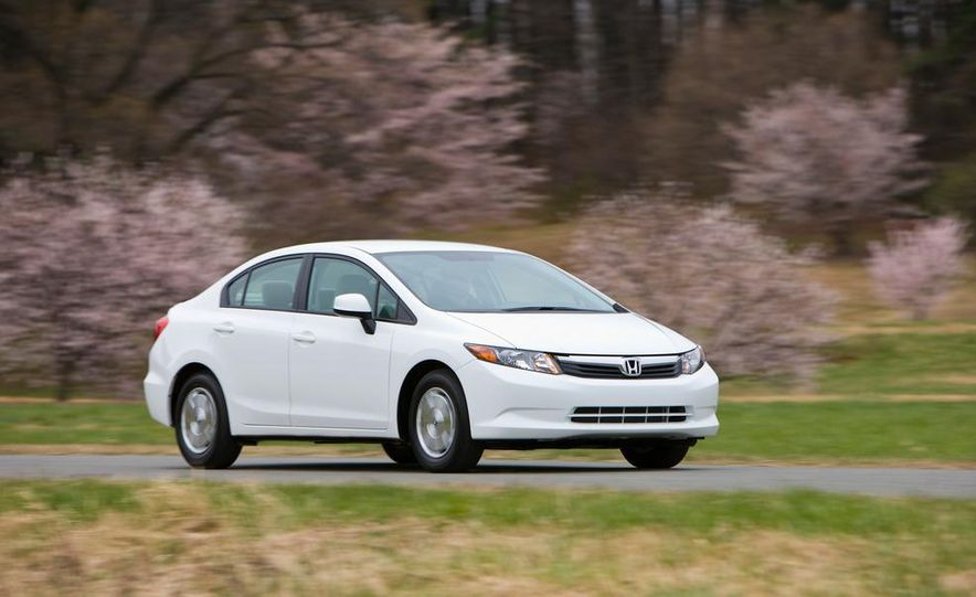 2012 Honda Civic EX-L sedan - Slide 79
