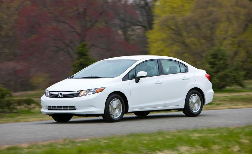 2012 Honda Civic EX-L sedan - Slide 80