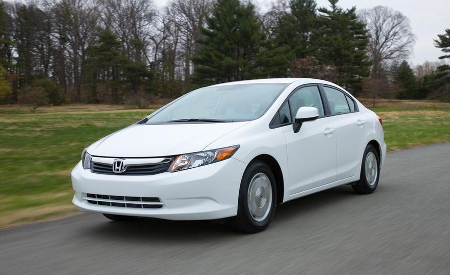 2012 Honda Civic EX-L sedan - Slide 81