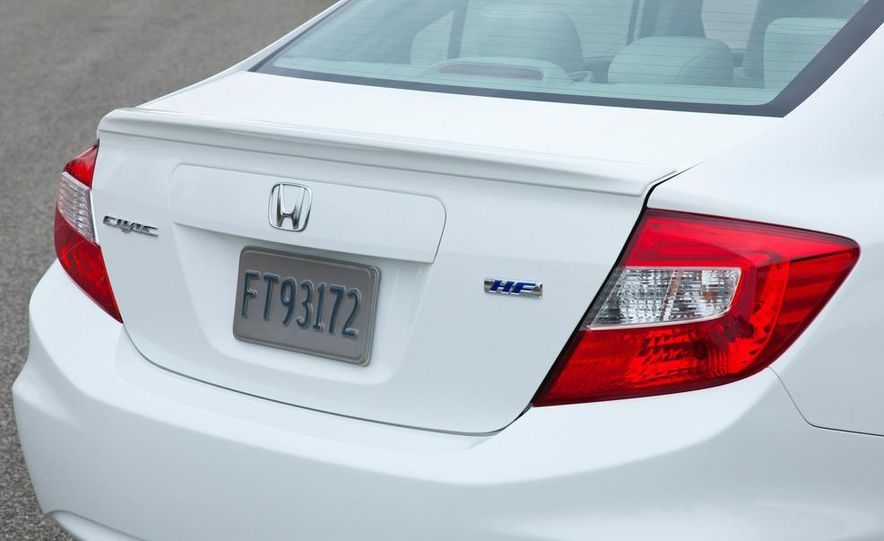 2012 Honda Civic EX-L sedan - Slide 82