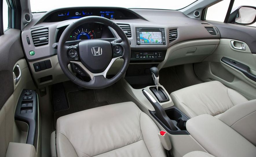 2012 Honda Civic EX-L sedan - Slide 42