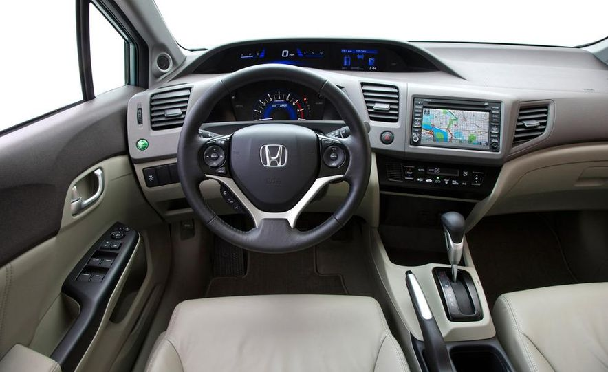 2012 Honda Civic EX-L sedan - Slide 43