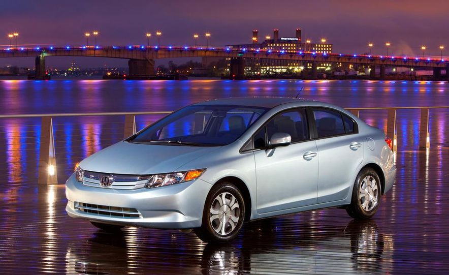2012 Honda Civic EX-L sedan - Slide 29