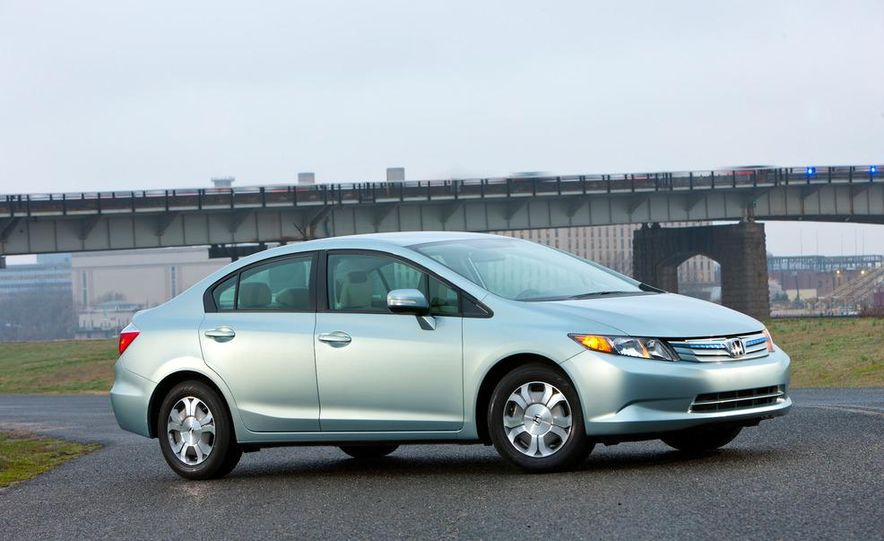 2012 Honda Civic EX-L sedan - Slide 32